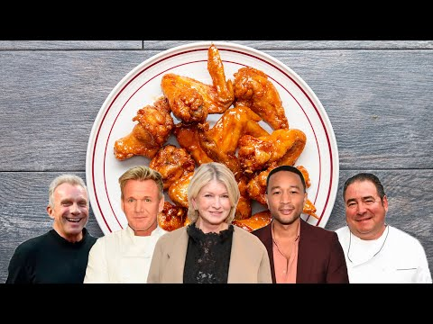 Which Celebrity Has The Best Wings Recipe? | Tasty