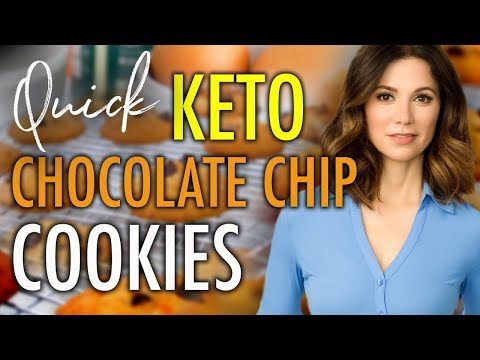 The BEST Keto Chocolate Chip Cookie Recipe!