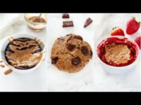 3 Healthy Single Serve Vegan Paleo Desserts Recipes