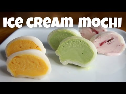 DIY Ice Cream MOCHI – You Made What?!