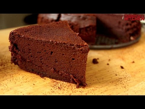 Keto Chocolate Cake | Flourless Chocolate Cake | Headbanger's Kitchen