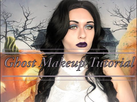 Glam Ghost Ghoulish Halloween Makeup Tutorial