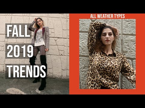 Fall Trends 2019 | All Weather Types