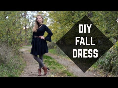 DIY Fall Dress