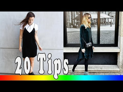 20 Style Tips On How To Wear A Velvet Dress This Fall