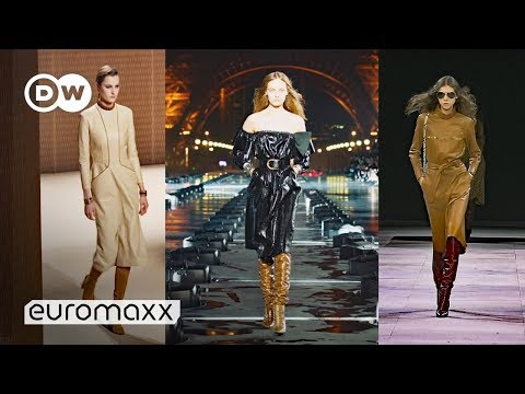 Fall/Winter Fashion Trends | Beige is the New Black and High Boots are Back!