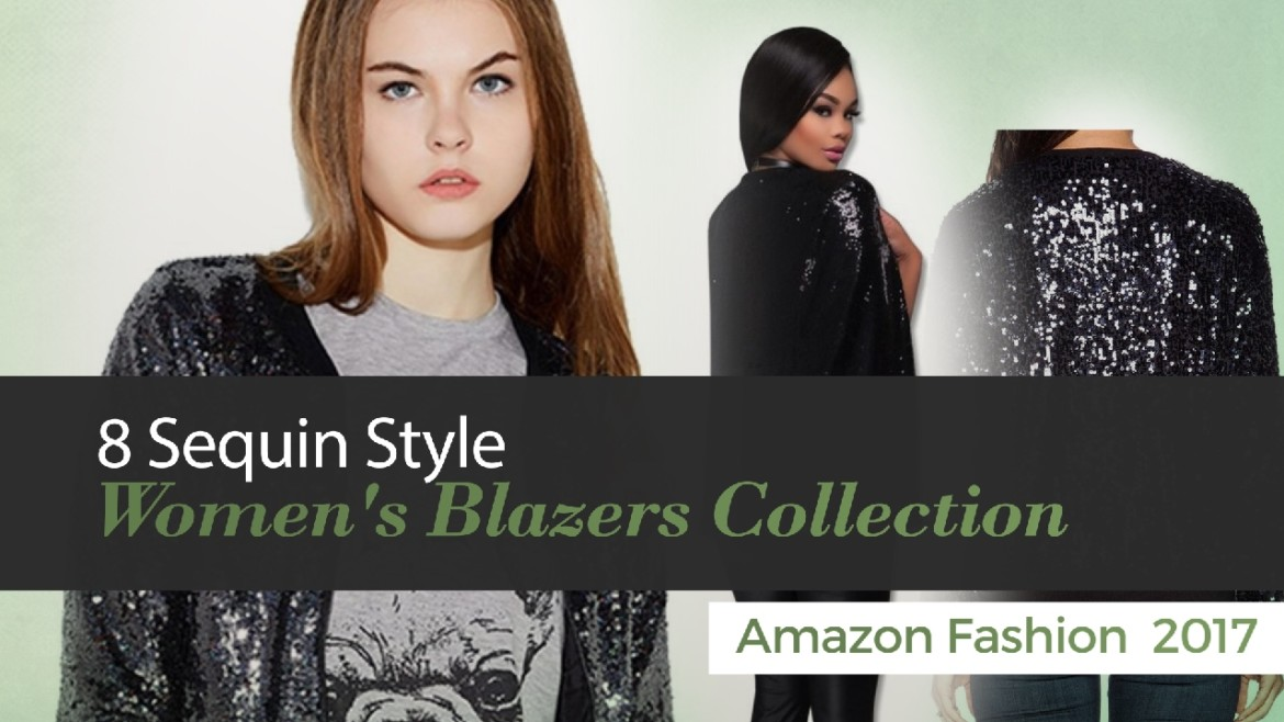 Sequin Style Women's Blazers Collection