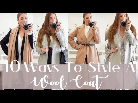 10 Ways To Style A Wool Coat In Winter