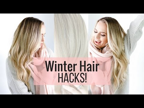 5 Winter Hair Hacks | Tips+Tricks For Cold Weather