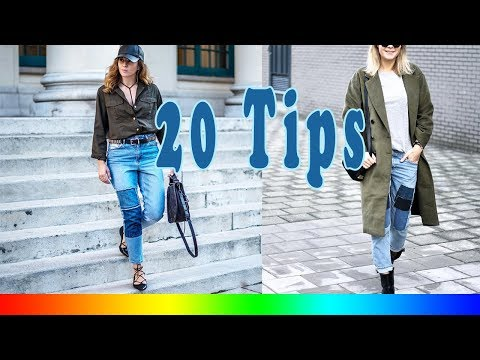20 Style Tips On How To Wear Patchwork Denim Jeans