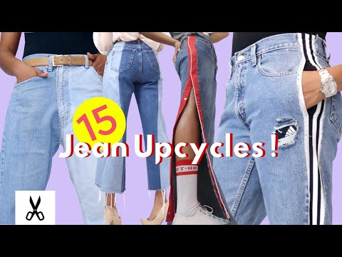 15 Amazingly Clever Jean Upcycles | Best Thrift Flips