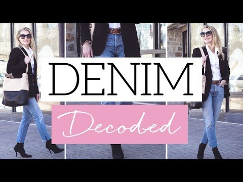 Denim Decoded | Breaking Down All the Different Types of Jeans