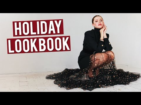 Holiday Lookbook | New Years & Christmas Party Outfits