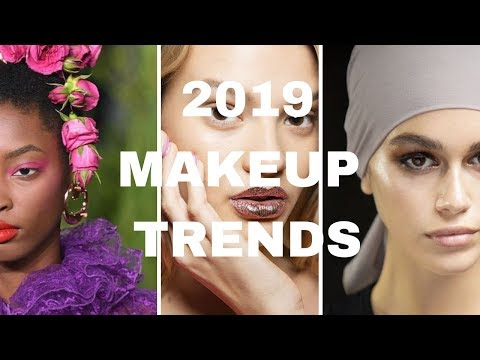 3 Makeup Trends for 2019