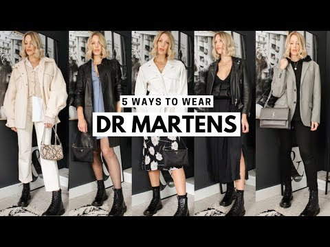 Styling Dr. Martens Pascal Boots For Autumn | Outfit Ideas