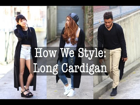 How We Style | Long Cardigan