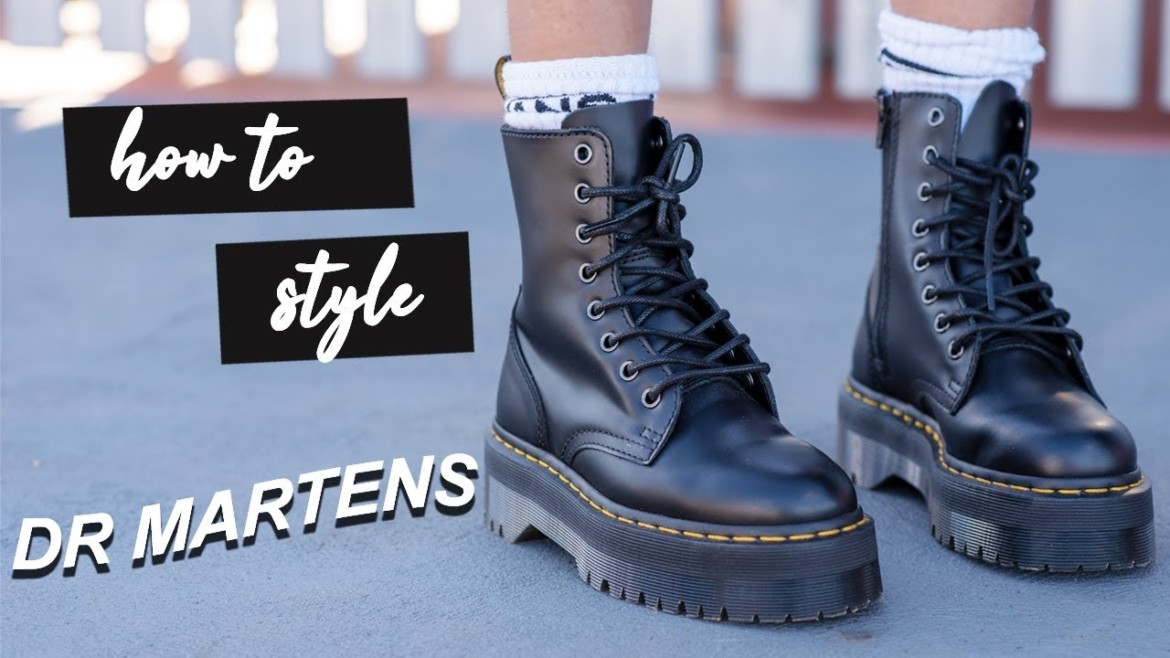 How to Style | Dr. Martens Platform Boots