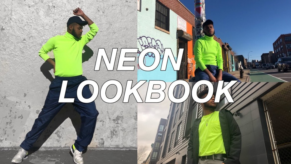 Mens Neon Lookbook