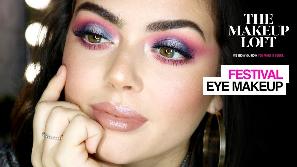 Festival Makeup | Holographic Cut Crease | Maybelline New York