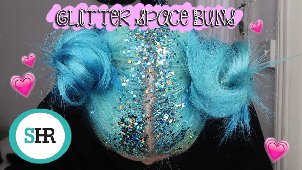 How-To | Glitter Space Buns