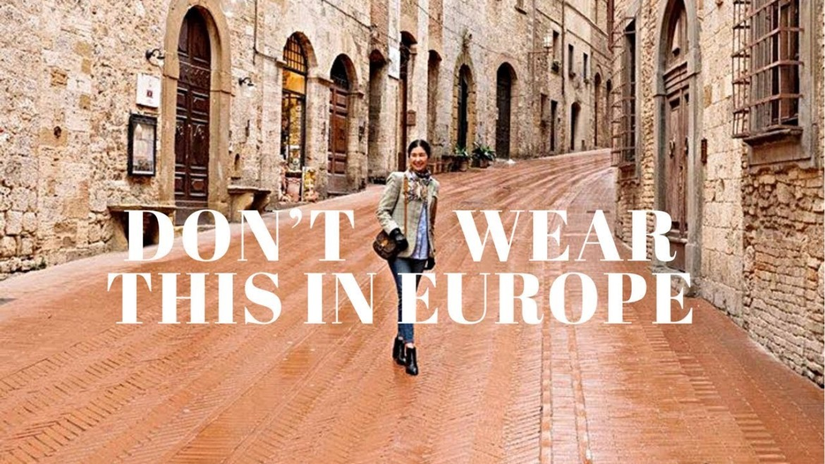 How Not To Look Like A Tourist | What To Wear In Europe