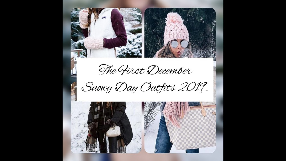 The Really Cool First December Snowy Days Outfits Ideas