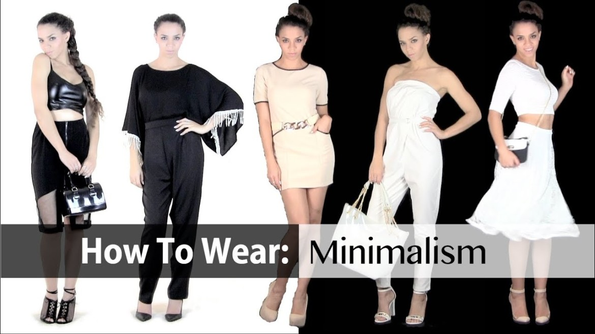 Spring Fashion Trends | Minimalism 8 Outfit Ideas