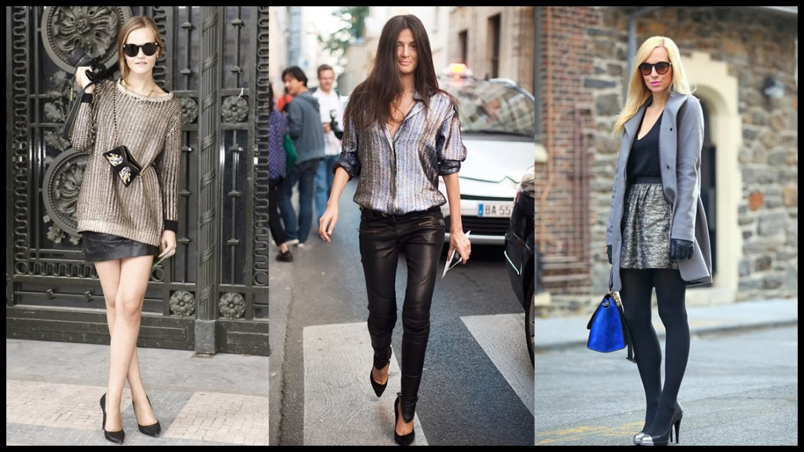 How to Wear Metallic Outfit Combinations