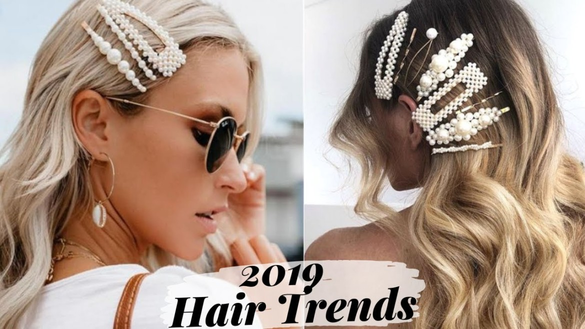 How To Rock The Pearl Hair Clip Trend | 2019 Hottest Hairstyles
