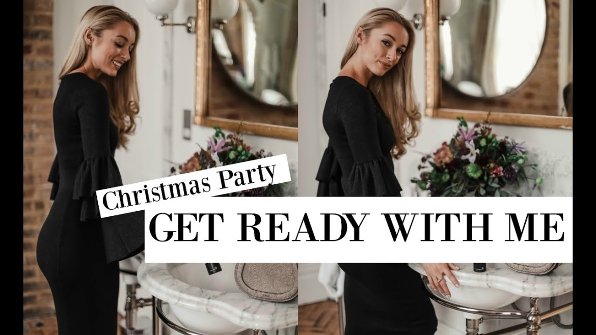 Christmas Party GRWM | Black & White Festive Style Essentials