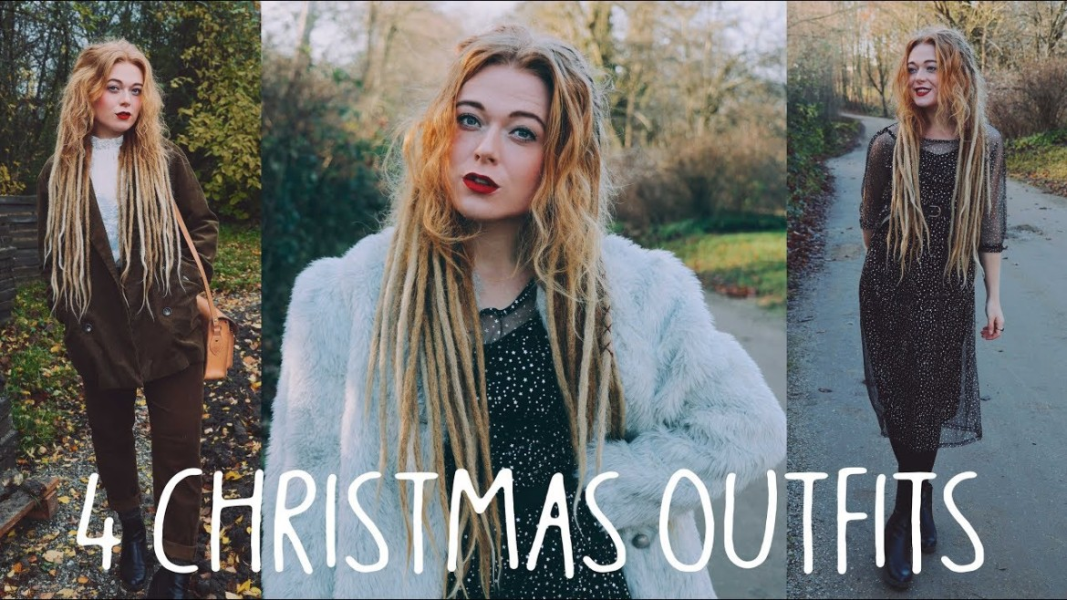 Four Cute Christmas Party Outfits