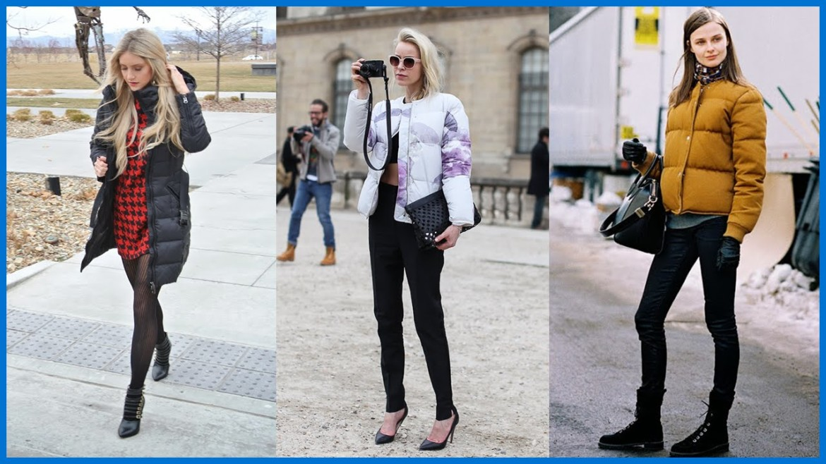 How to Wear a Puffer Jacket | Outfit Ideas