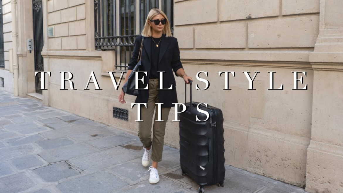 Travel Style Tips + Travel Outfits ✈️
