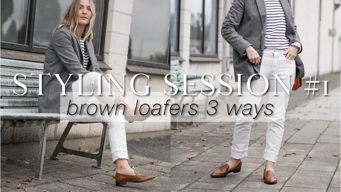 Wardrobe Styling Sessions | Brown loafers 3 ways