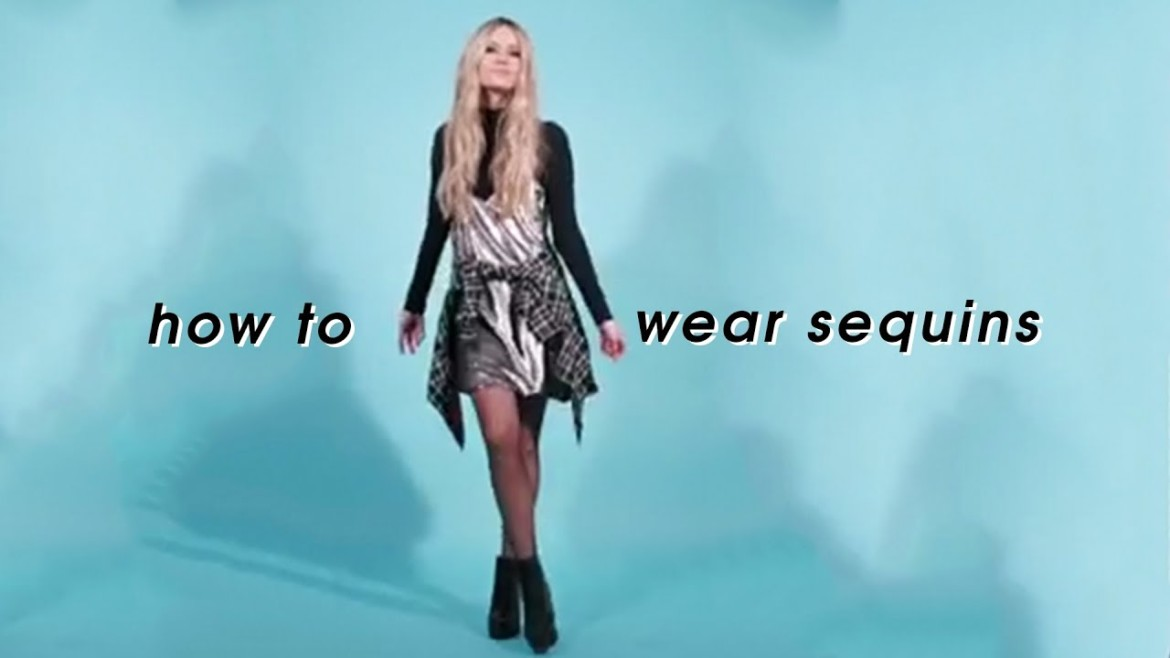 How To Wear Sequins Day To Night