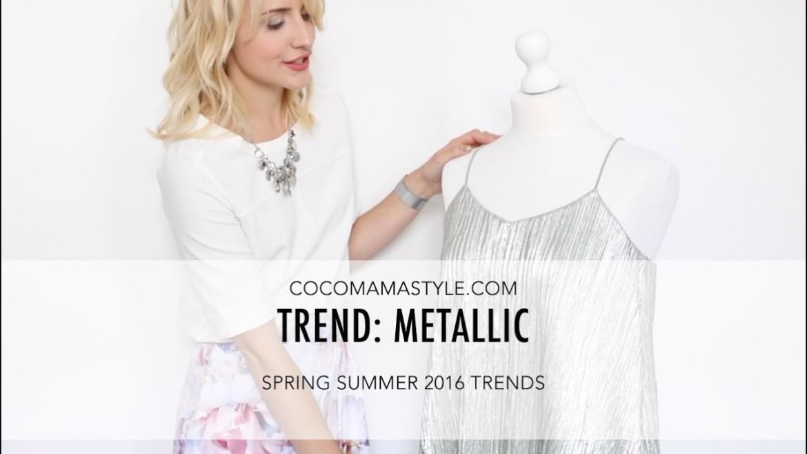 Trend | How to wear the metallic trend