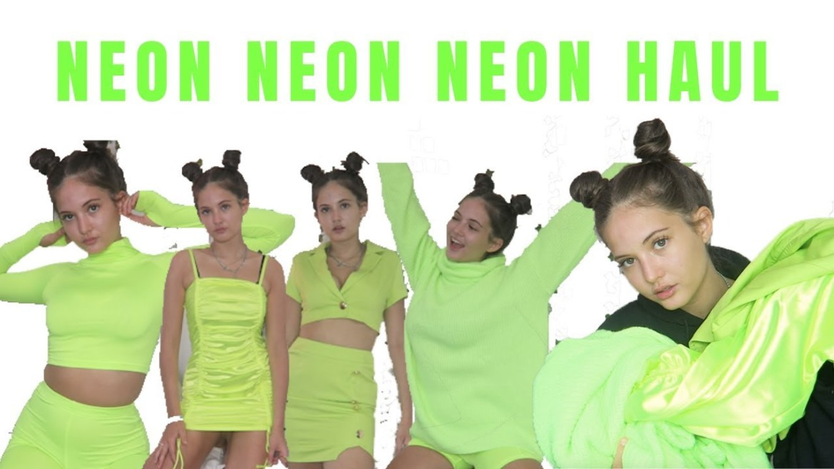 I Only Bought Neon Green | Neon Rebellious Fashion Haul