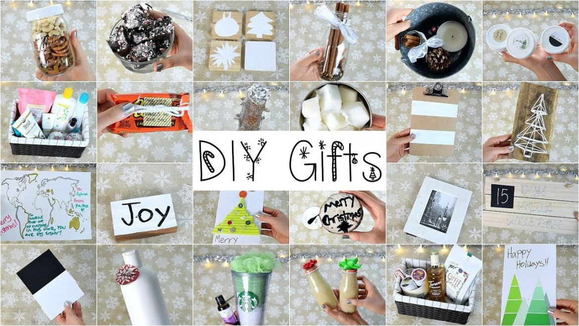 25 DIY Christmas Gifts That People Will Love!