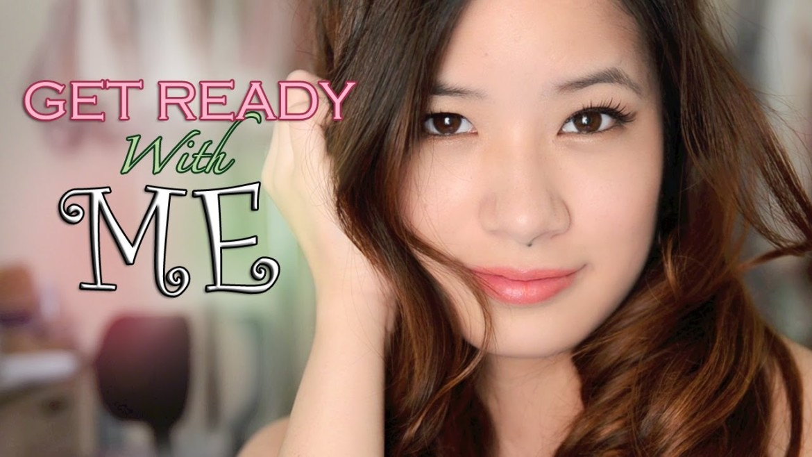 Get Ready With Me   Christmas Night Out Makeup & Hair
