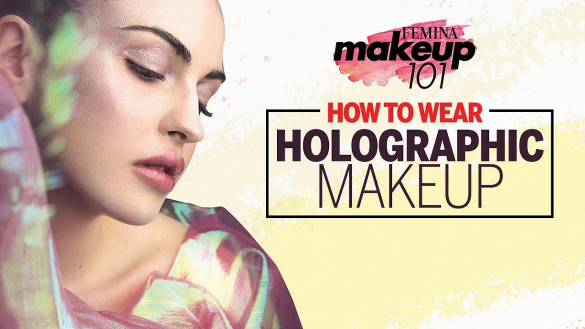 How-To Wear Holographic Makeup | Holographic Makeup Tutorial