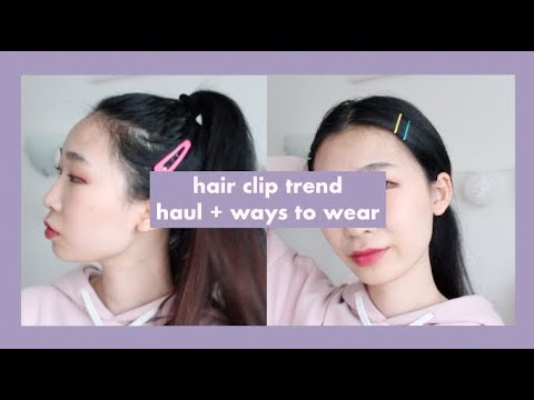 90s Hair Clip Trend! Haul + Ways to Wear