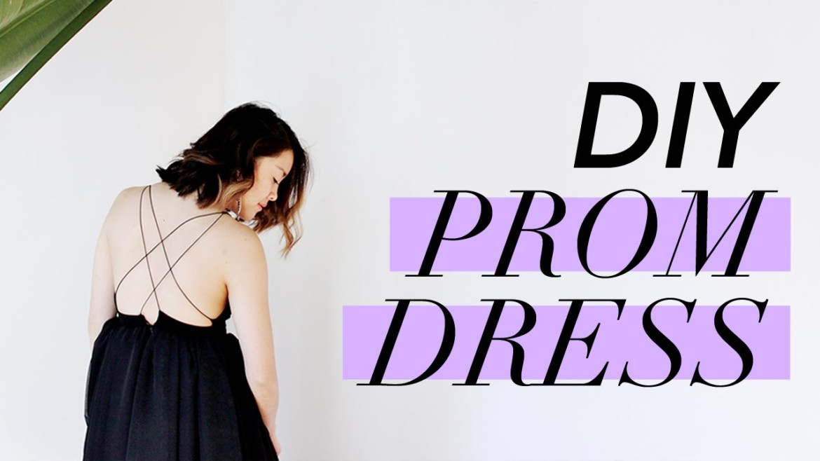 How to Make a PROM DRESS