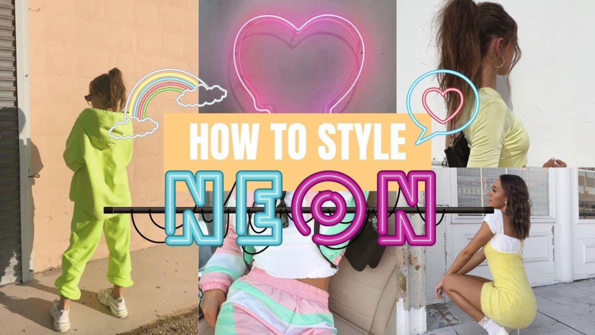 How To Style The Neon Trend
