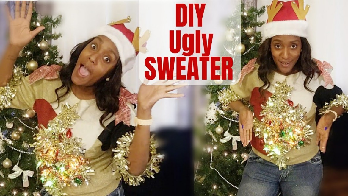 Making Ugly Christmas Sweaters / DIY Ugly Sweaters (collab)/ Ugly Holiday Sweaters