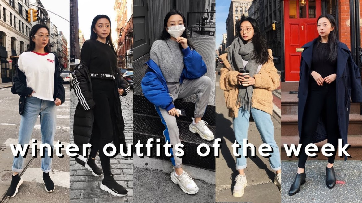 WINTER OUTFITS OF THE WEEK 2019