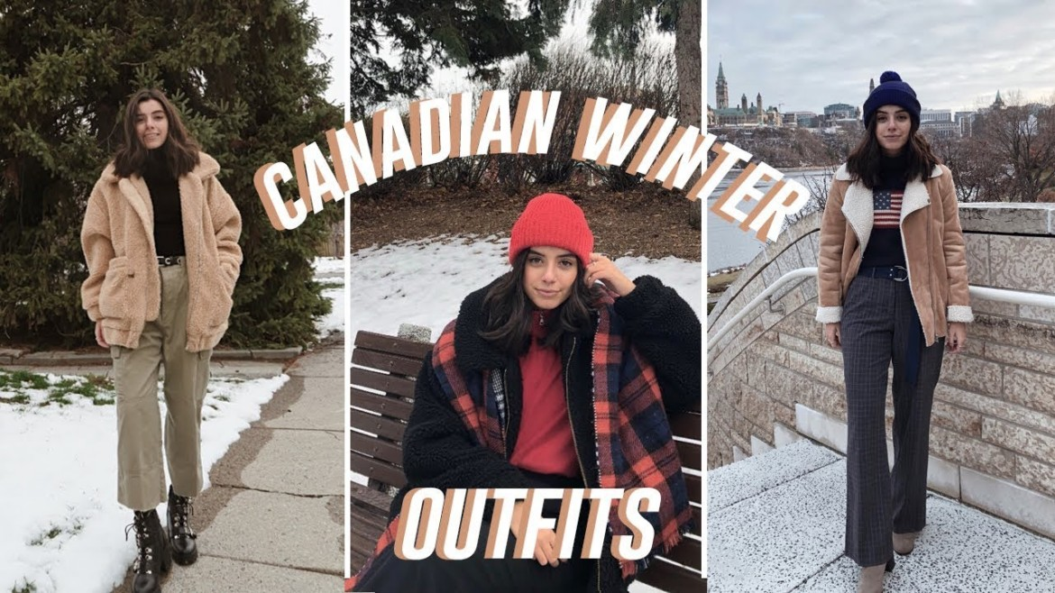 Winter Outfits 2019 (feat. 12 Trends) | Canadian Winter Outfits
