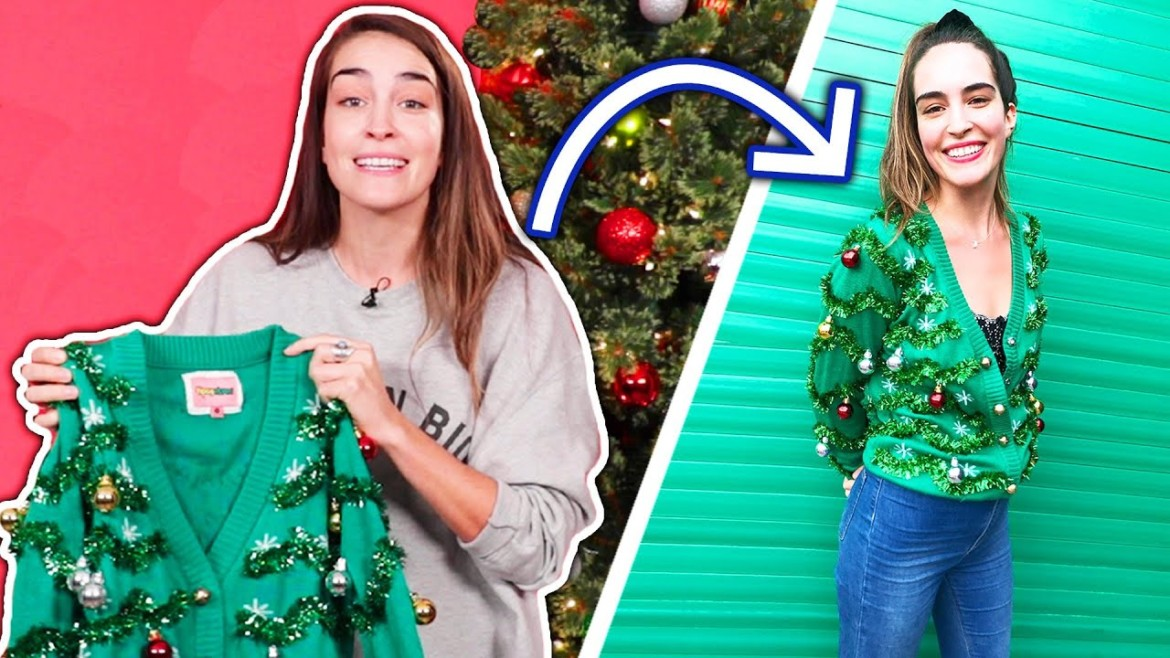 We Try Styling Ugly Christmas Sweaters