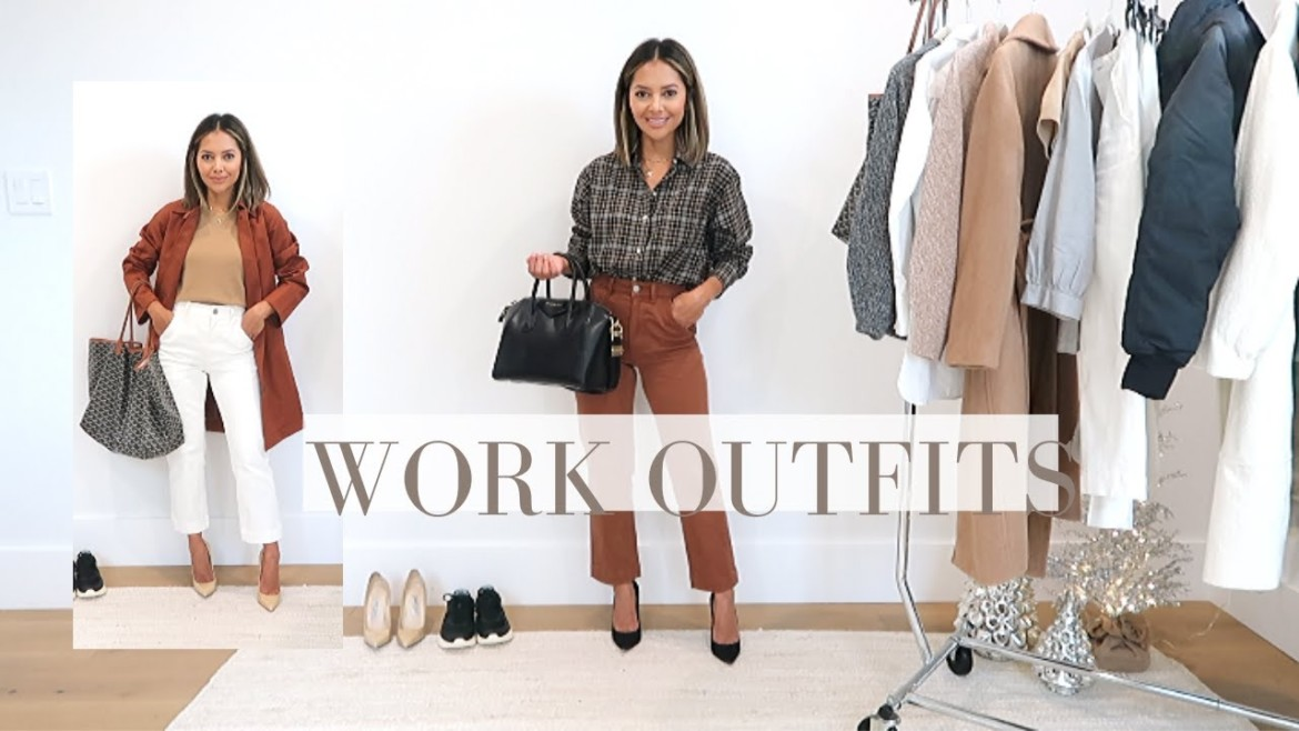 Easy Everyday Work Outfits Fall 2019 | Office Style