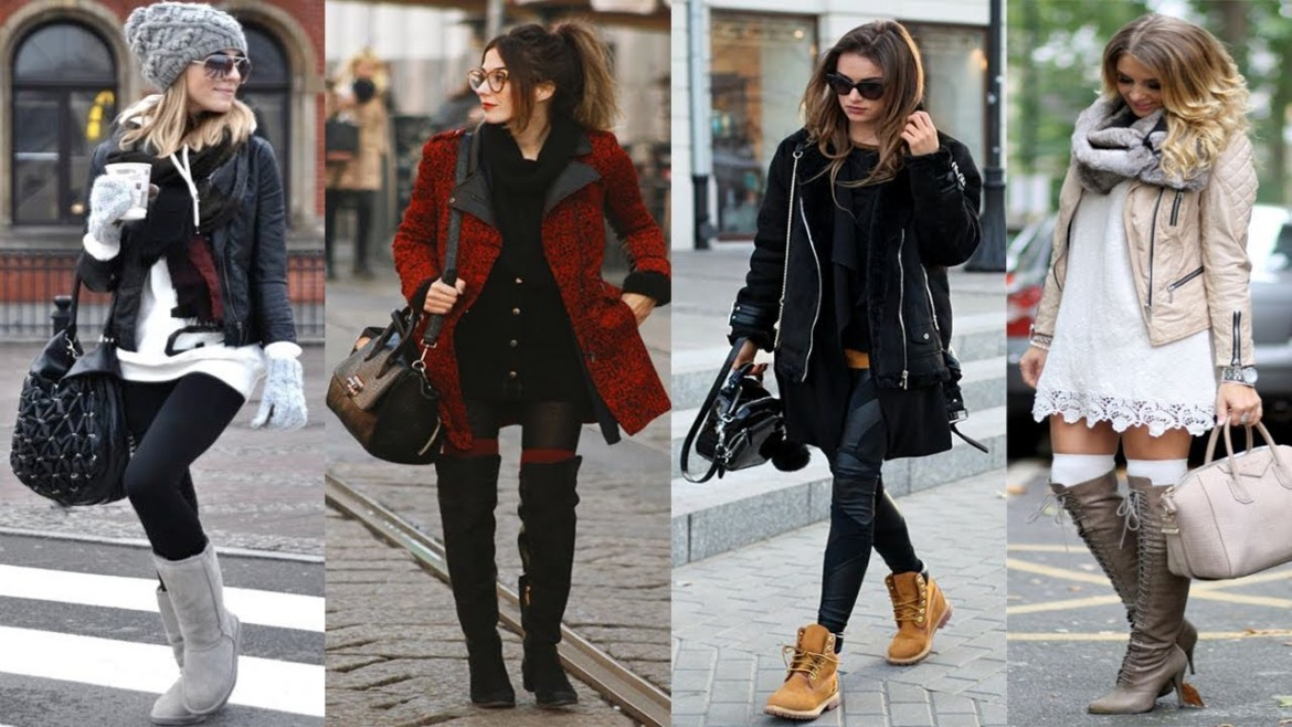 Cute Winter Street Style Outfit Ideas