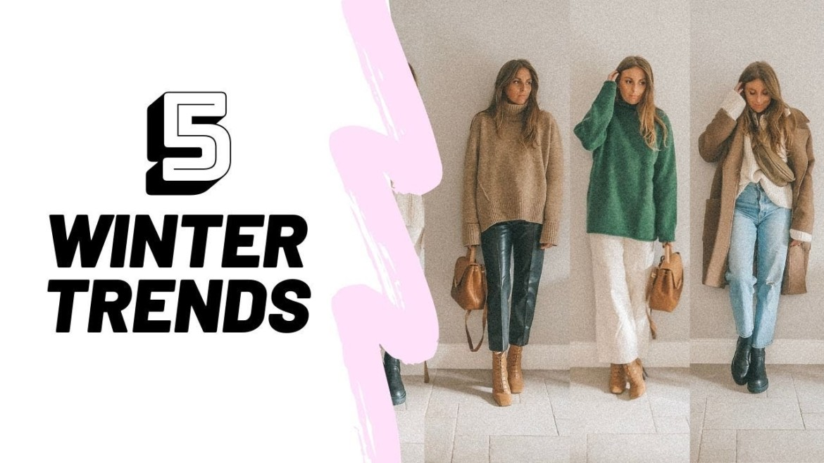 5 Winter Fashion Trends | Winter Outfit Ideas | Sinead Crowe
